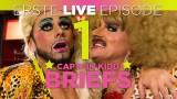 Staffel 3 / Episode 1 – BRIEFS boy Mark CAPTAIN KIDD Winmill @ THEKENSCHLAMPE TV LIVE im TIPI
