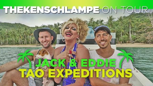 Staffel 3 / Episode 3 – JACK & EDDIE – TAO EXPEDITION @ THEKENSCHLAMPE TV on Daracotan Island